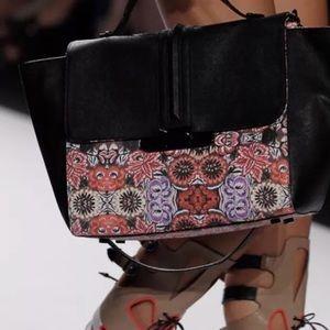 REBECCA MINKOFF Mexi Flower Print Leo Tote Handbag